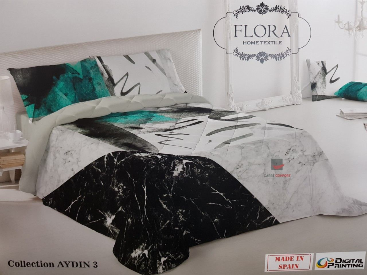 Couette Flora 2 Places - Aydin 3 - 240x260