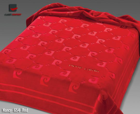 Couverture Pierre Cardin Nancy-654-Rouge