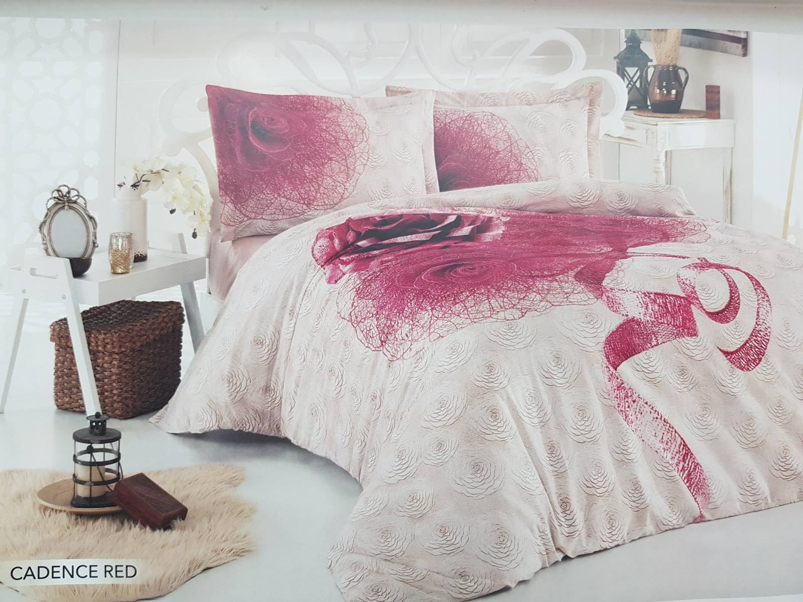 Housse de couette Cadence Red