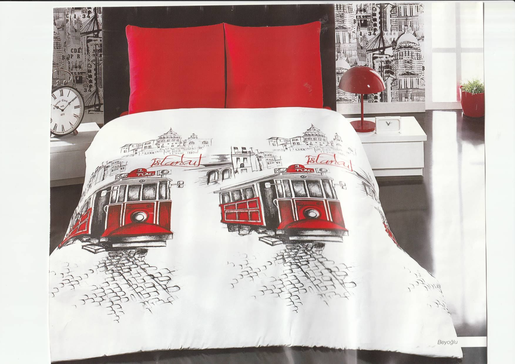 Couette CLASY 2 Places LONDON 240x260