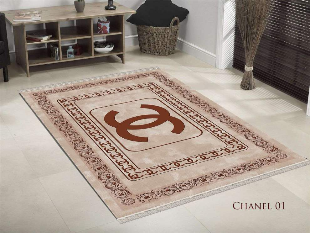 TAPIS SALON 3D CHANEL 01