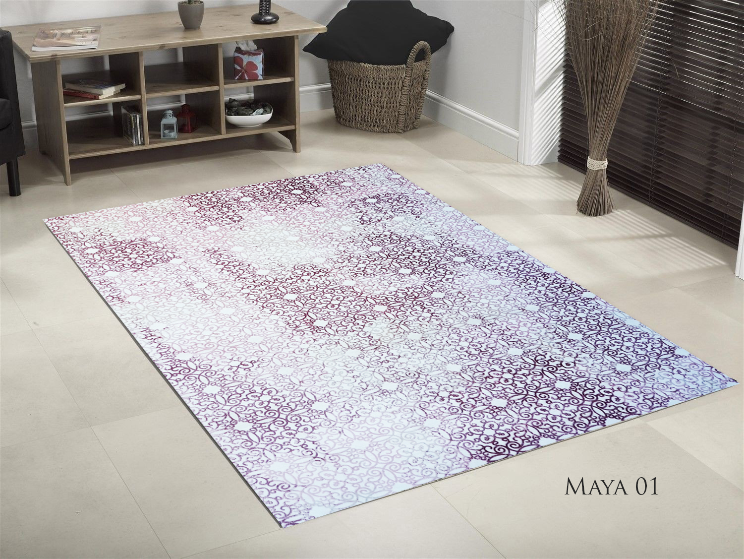 TAPIS DE SALON SOFT MAYA 01  190x300