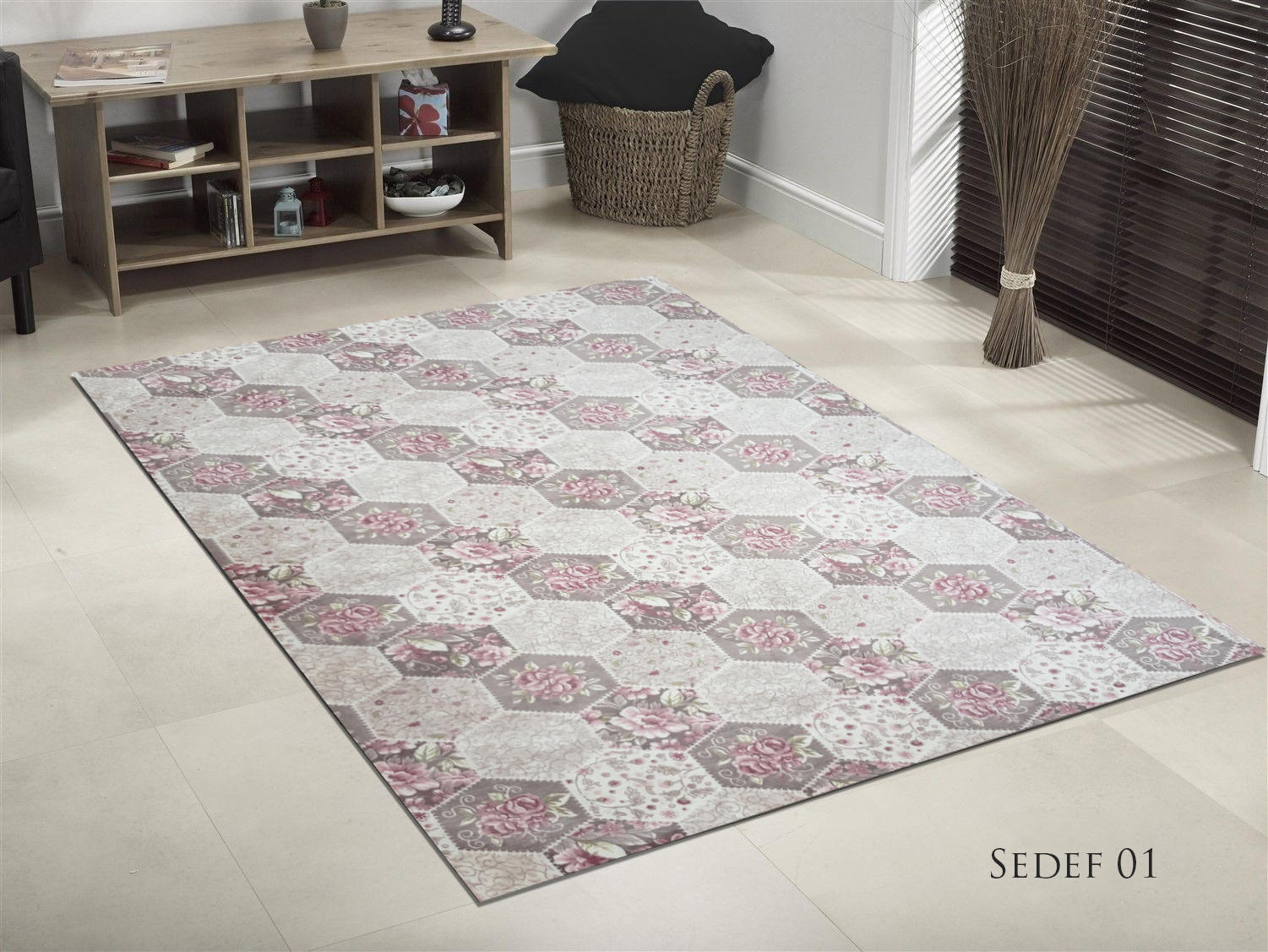 TAPIS DE SALON SOFT SADEF 01  190x300