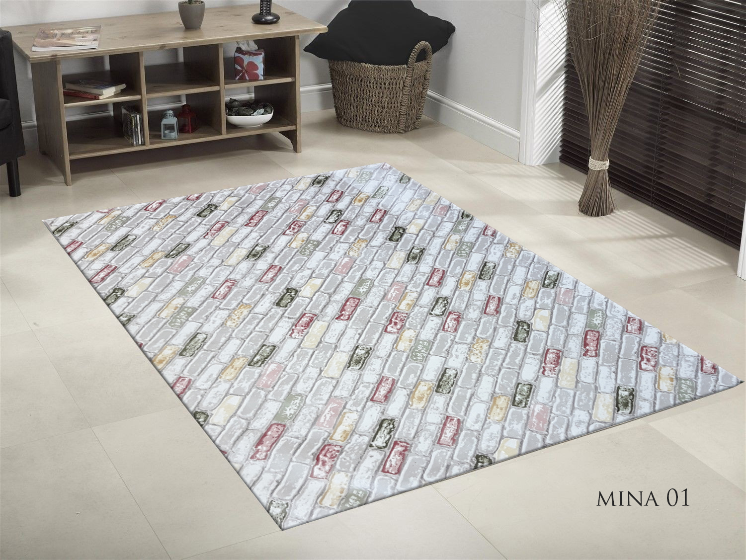 TAPIS DE SALON SOFT MINA 01  190x300