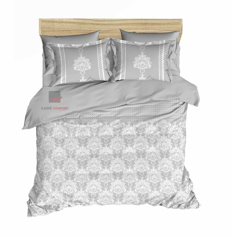 Couette Cotton Doux 2 Place Dream gris 240x260